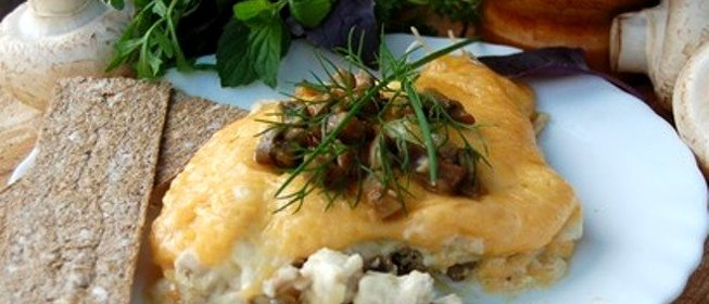 рецепты жульена с грибами и курицей в мультиварке