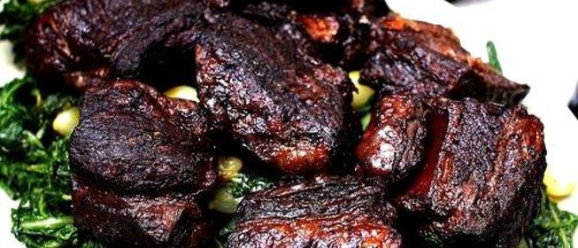 Говяжьи ребра с овощами рецепт