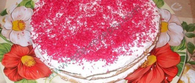 Торт рецепт сливочный