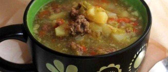 Суп из фарша рецепт в мультиварке