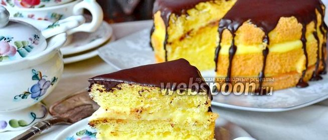 Бостонский торт рецепт пошагово