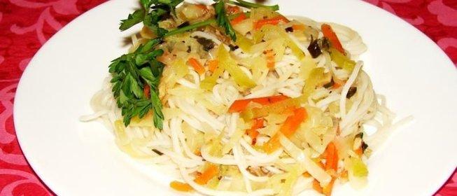 Салат с фунчозой рецепт простой 112