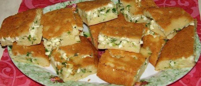 Пирог с майонезом рецепт с фото