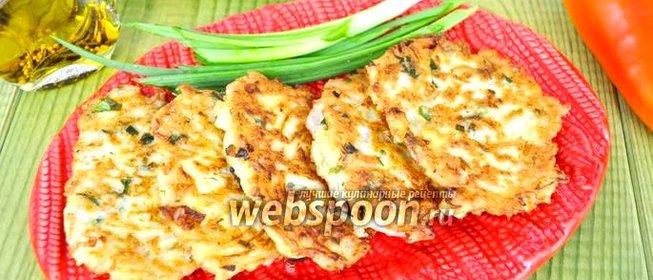 Драники из кабачков рецепт пошаговый с фото