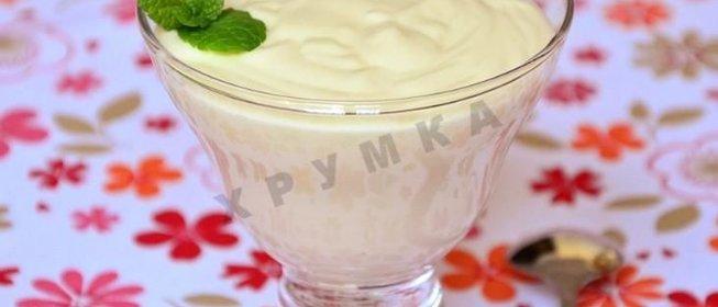Крем пломбир рецепт пошагово