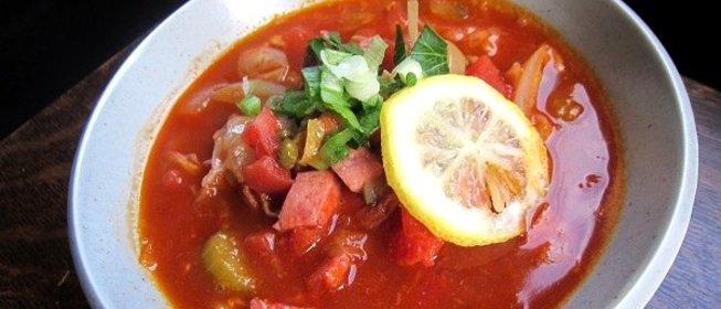 Солянка с колбасой рецепт с фото пошагово с капустой