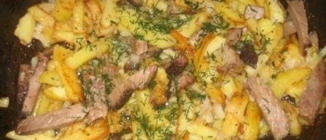 Вторые блюда на сковороде с пошагово