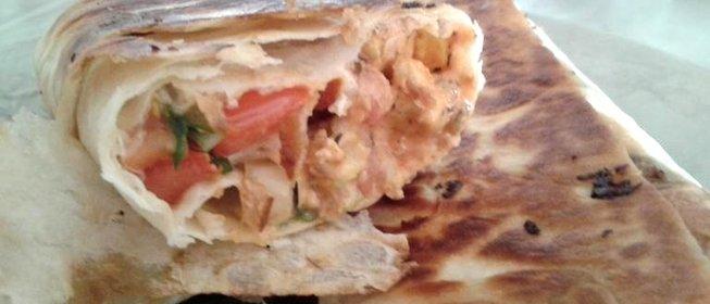 Как сделать шаурму с колбасой в домашних условиях пошаговый рецепт с фото
