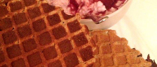 Приготовлением вафель в домашних условиях