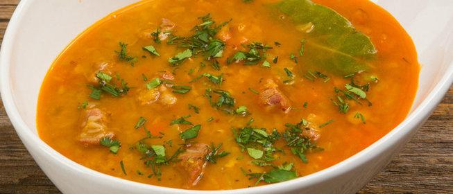 Суп с чечевицей рецепт пошаговый с фото
