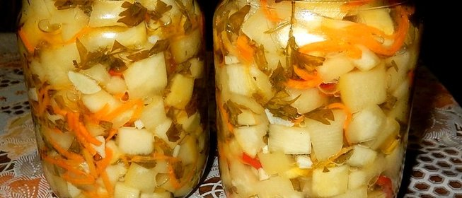 Кабачки рецепты на зиму простой рецепт