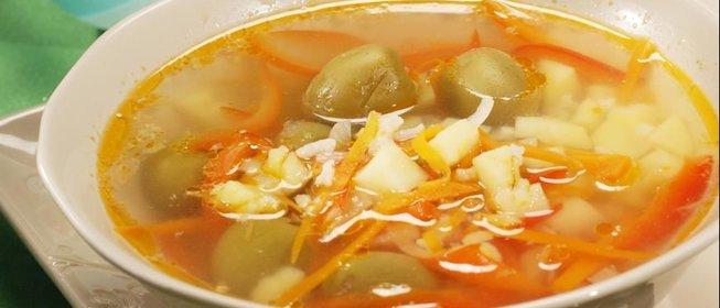 Суп со свининой пошаговый с фото