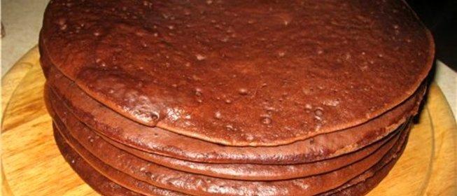 Торт бисквит на сковороде рецепт