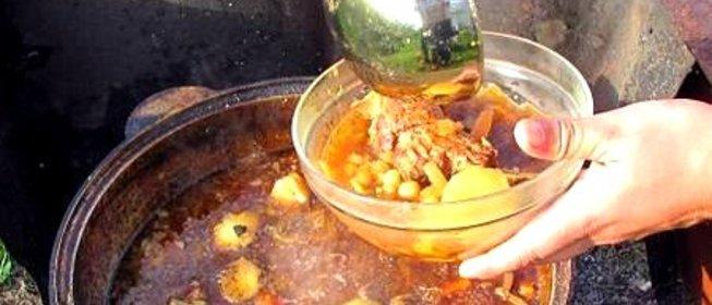 Блюда из баранины в казане на костре рецепты с пошагово в