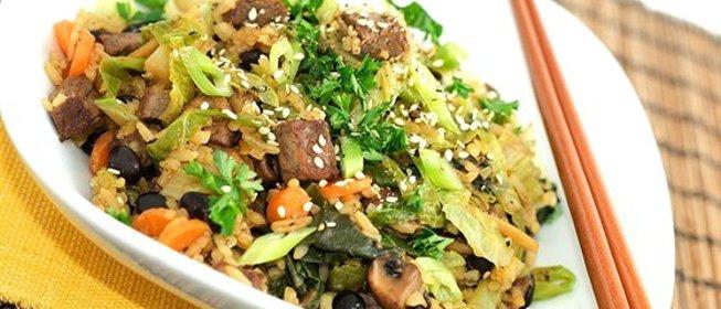 Рис в соевом соусе с овощами рецепт с пошагово