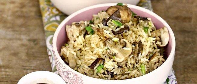 коричневый рис рецепты с фото
