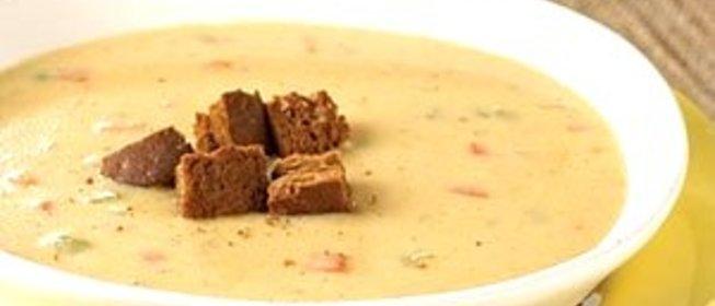 Суп пюре с маскарпоне