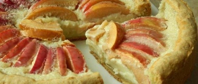 Цветаевский яблочный пирог пошаговый рецепт с готовим