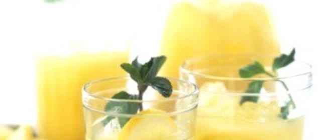 Лимонад с базиликом в домашних условиях