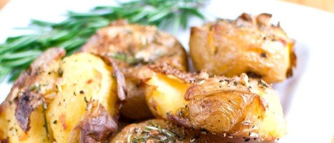 Картофель в духовке с пошагово