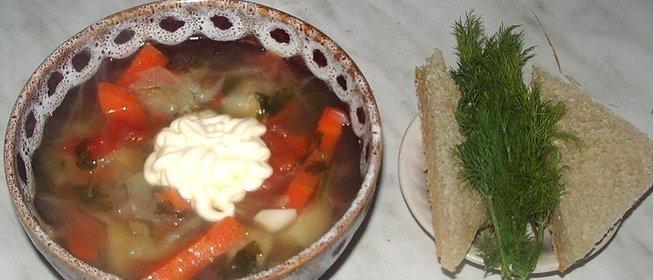 Рецепт овощного супа с сельдереем