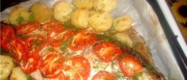 Фаршированный сазан в духовке рецепты с фото