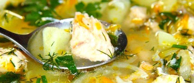 Рецепт сырного супа из плавленного сыра с курицей и сливками