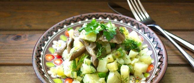 Рецепты салатов из опят консервированных