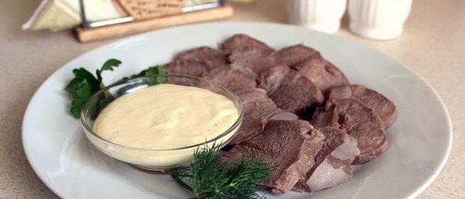 Язык свиной рецепты с соусом