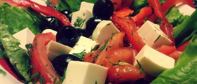 Рецепт салата греческого с сыром фетаксаы
