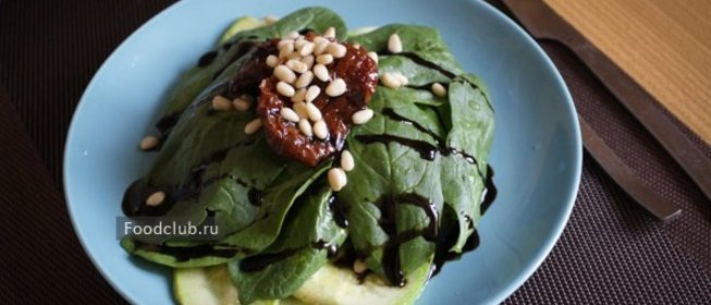 Простые салаты со шпинатом рецепты с простые