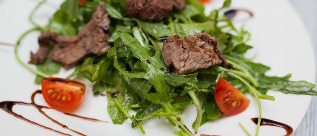 Теплые салаты из говядины пошаговый рецепт