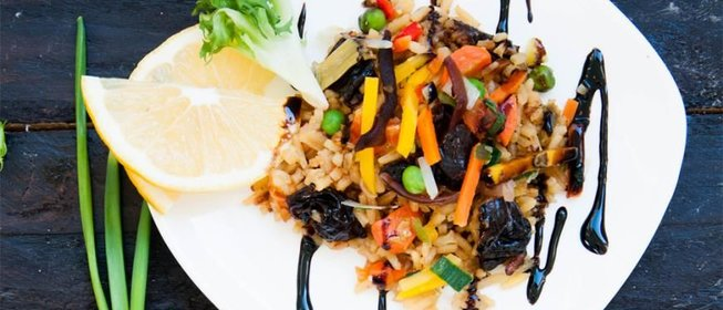 Рис с овощами и кукурузой рецепт с пошагово
