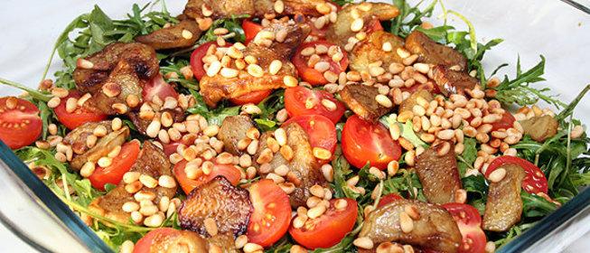 Вкусные салаты с рукколыы с фото