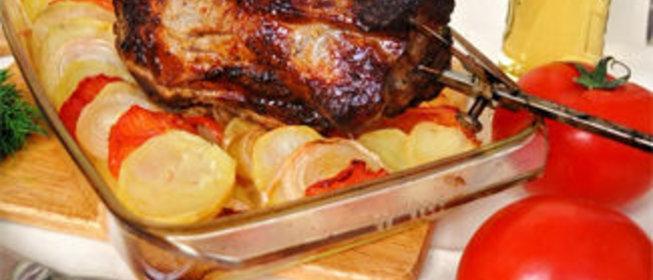 Свиная шейка в духовке пошаговый рецепт с