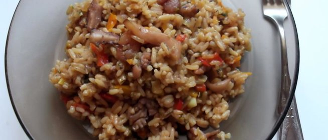 Рис с морепродуктами в мультиварке рецепт с фото