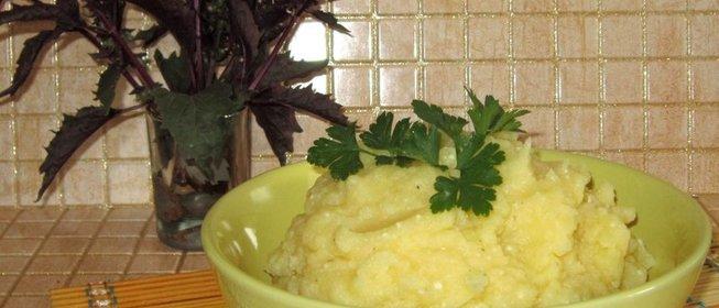 Вкусное картофельное пюре рецепт с фото пошагово