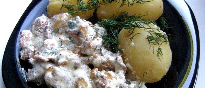 Соус из лисичек рецепты с фото