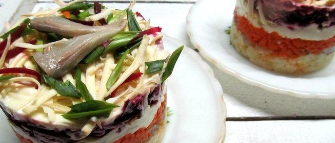 салат под шубой с сыром по шаговый рецепт