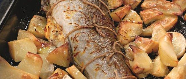 Рыба фаршированная рецепт с фото пошагово
