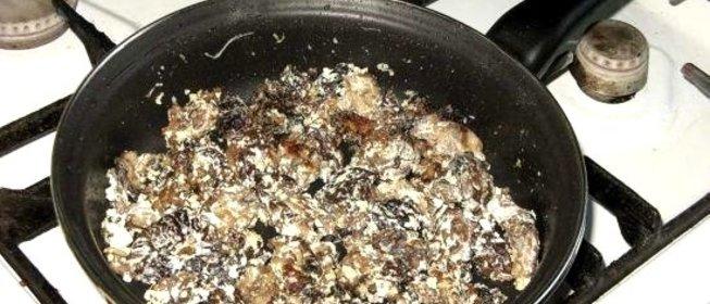 Как приготовить сморчки с яйцами