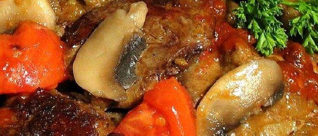 Печень куриная по французски рецепты