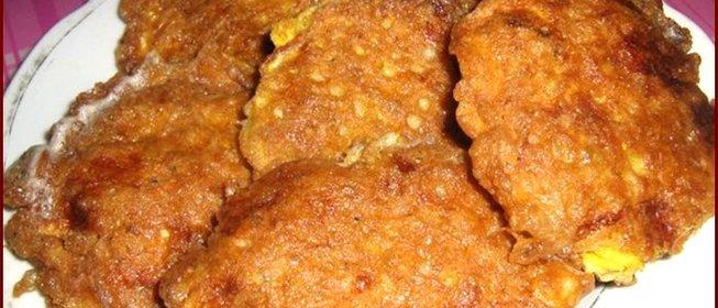 Рецепт бризоль из куриного фарша пошагово