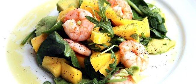 Рецепты салатов с морепродуктами простые и вкусные с