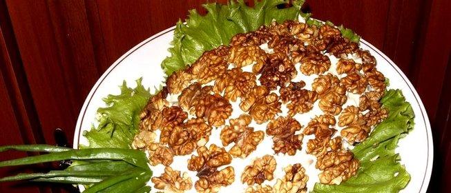 Салат ананас с курицей в домашних условиях рецепт