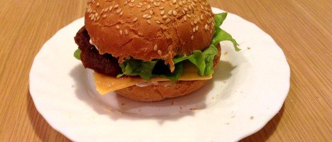 Как сделать бургер в домашних условиях фото