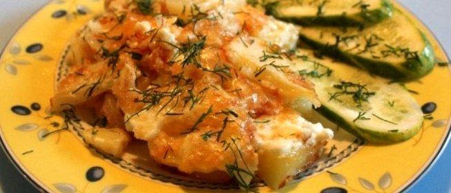 Как приготовить куриные грудки в духовке с картошкой и сыром
