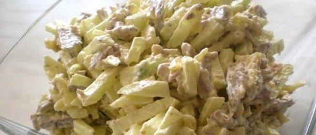 Салат мой каприз рецепт с пошагово