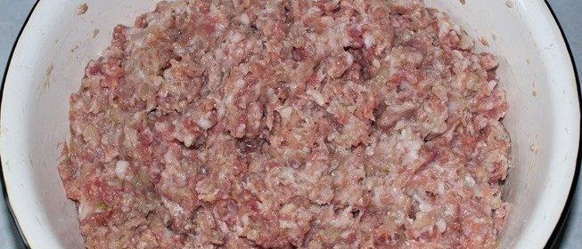 мясо фарш рецепт с фото пошагово