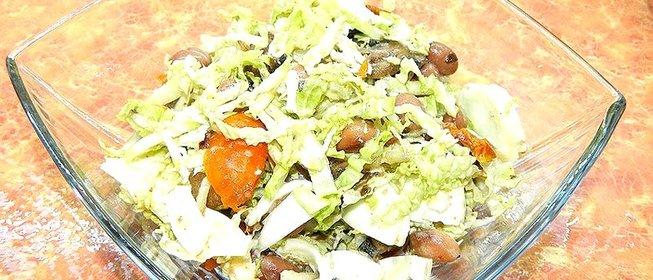 Салат по деревенски рецепт пошагово
